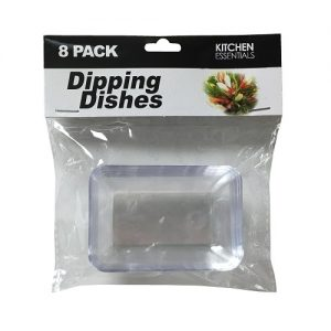K.E Dipping Dishes 8pk Rect