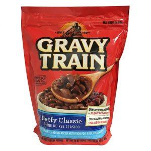 Gravy Train Dog Food Beefy Classic 18oz