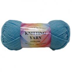 Knitting Yarn Aqua Marine Blue 100% A