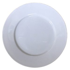 Porcelain Dessert Plate 7in White