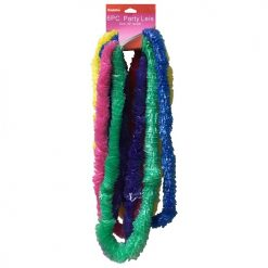 ***Party Leis 6pc 40in Asst Clrs
