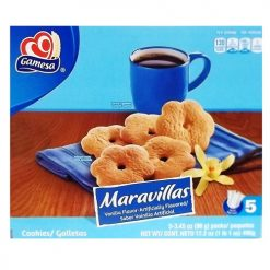 Gamesa Maravillas Cookies 5pk 3.45oz Ea