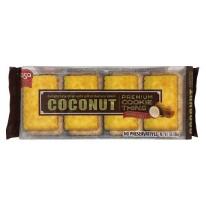 ASA Coconut Cookie Thins WButter Glz 7oz