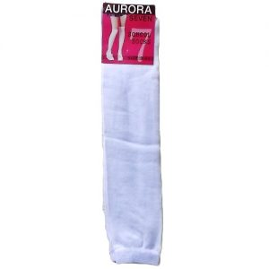 School Socks 9-11 White