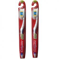 Colgate Toothbrush 1pk Med Asst Clrs
