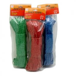 Poly Rope 30m Asst Clrs