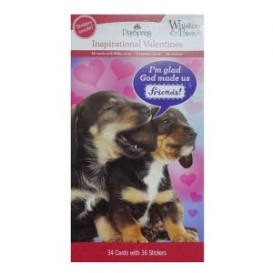 Valentine Cards 34ct Asst Inspirational