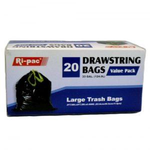 Ri-Pac Large Trash Bags 20ct 33gl