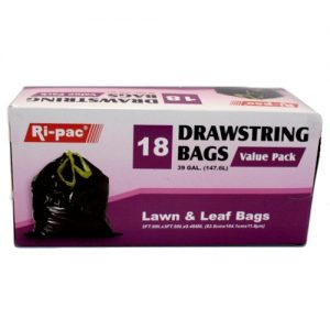 Ri-Pac Lawn AND Leaf Bags 18ct 39gl