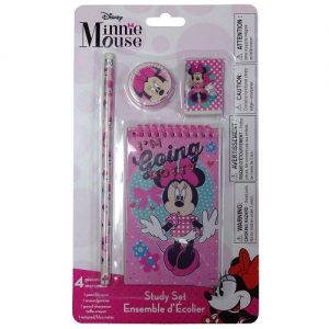 Miinnie Mouse 4pc Study Kit