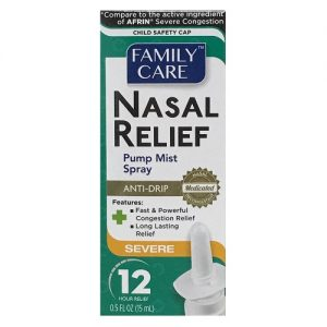 F.C Nasal Relief Mist 0.5oz Severe