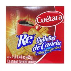 Cuetara Re De Canela Cookies 16.4oz Box