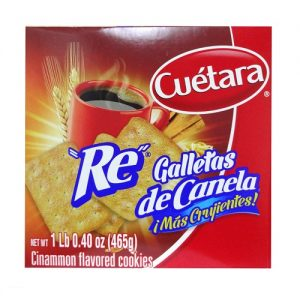 Cuetara Re De Canela Cookies 16.4oz Box