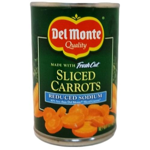 ***Del Monte Sliced Carrots 14?oz