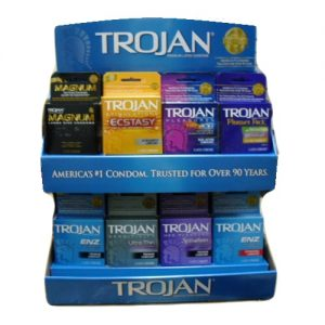 Trojan Condom 3ct Display Asst