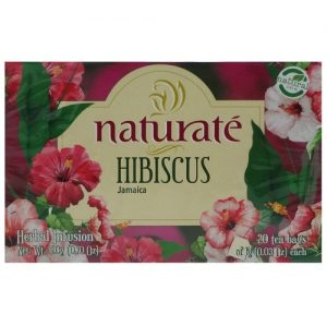 Naturate Tea Hibiscus 20ct 0.70oz
