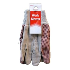 ***Working Gloves With PVC Dots
