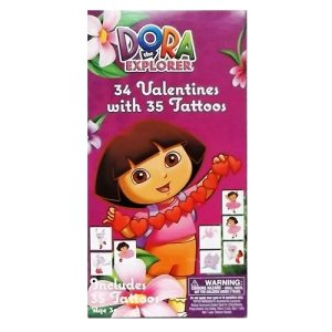 Valentine Cards 34ct Dora The Explorer