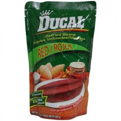 Ducal Pouch 14.1oz Red Refried Beans