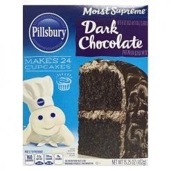 Pillsbury Cake Mix Dark Choc 15.25oz