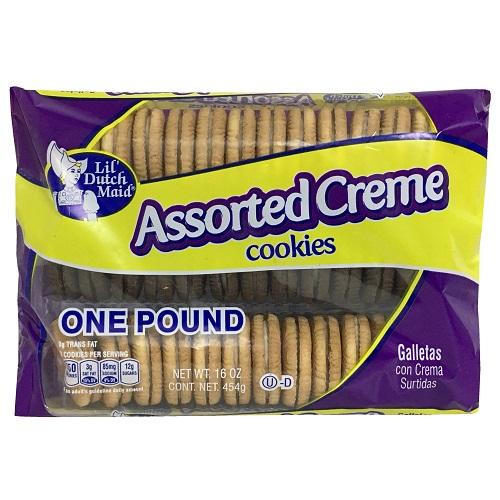 Lil Dutch 16oz Asst Creme Cookies