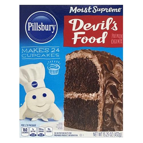 Pillsbury Cake Mix Devils Food 15.25oz