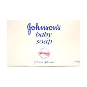 Johnsons Baby Soap 100g White Reg
