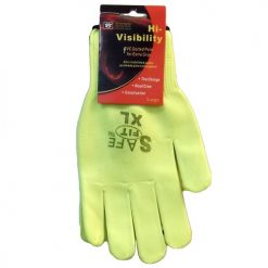 Safety Gloves Yellow Dotted