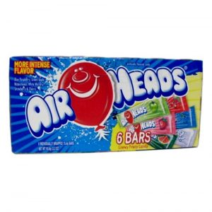 Airheads  Chewy Fruit Candy 6 Asst Bars