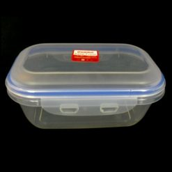 Food Container Rectangle W-Lock Lid