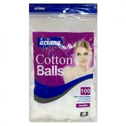Ariana Cotton Balls 100ct Jumbo