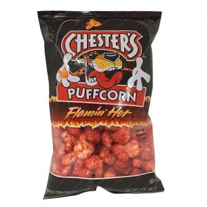 Lays Chesters Puffcorn Flamin Hot 2oz