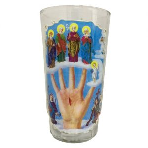 Candles Crystal Mano Poderosa White