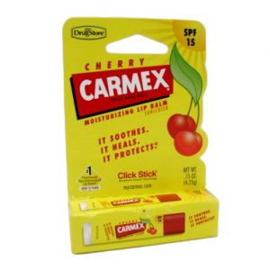 Carmex Lip Balm Cherry .15oz Med