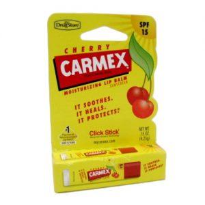 Carmex Lip Balm Cherry .15oz Med