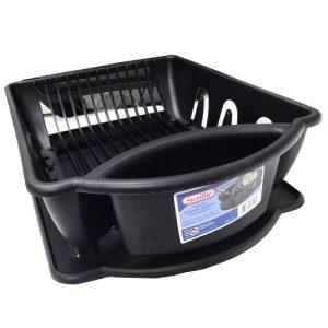 Sterilite Sink Set 2pc Black Lg