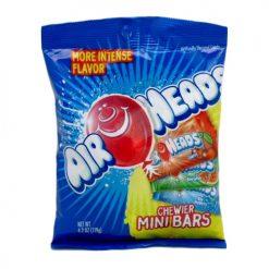 Air Heads Chewier Mini Bars Peg Bag 4.2o