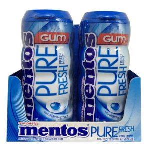 Mentos Gum Bottles 15pc Fresh Mint