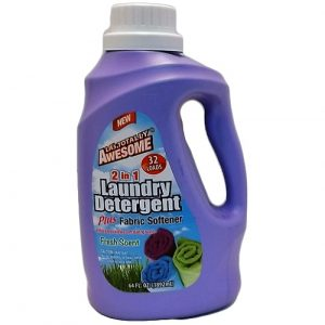 Awesome Liq Detergent 64oz 2 In 1 Frsh