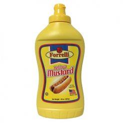 Forrelli Yellow Mustard 20oz
