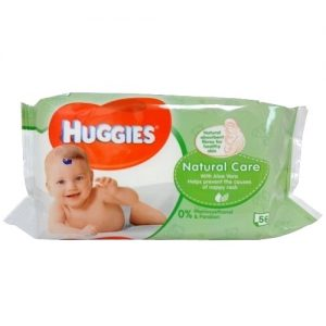 Huggies Baby Wipes 56ct Natural Care