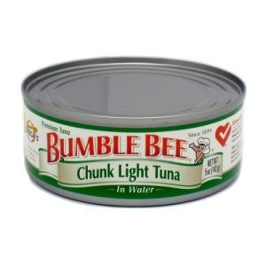 Bumble Bee Chunk Light Tuna 5oz In Wtr