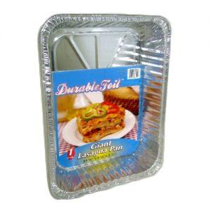D. Foil Giant Lasagna Pan 13 3-8 X 9 5-9