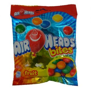 Airheads Fruit Bites 3.8oz Peg Bag