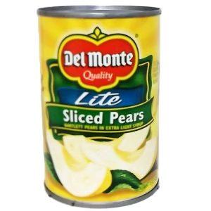 Del Monte Lite Sliced Pears 15oz