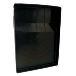 Paint Tray Black Plastic