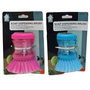 Soap Dispenser Dish Brush
