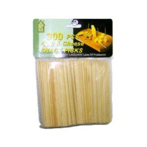 Snack Picks 300pc Wood