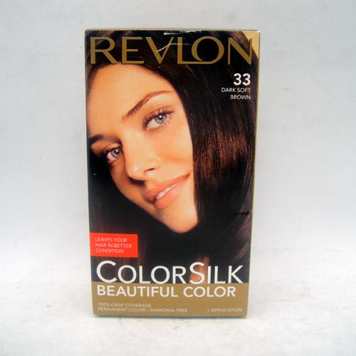 Revlon Color Silk #33 Dark Soft Brown