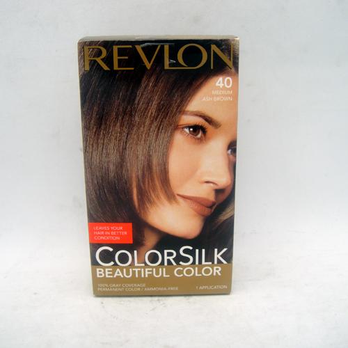 Revlon Color Silk #40 Med Ash Brown